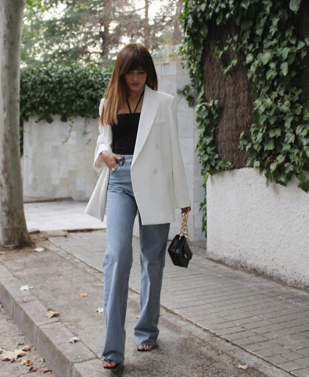 mini sac bandoulière avec fermoir métallique et imprimé animalier de Zara sur zara.outfits
