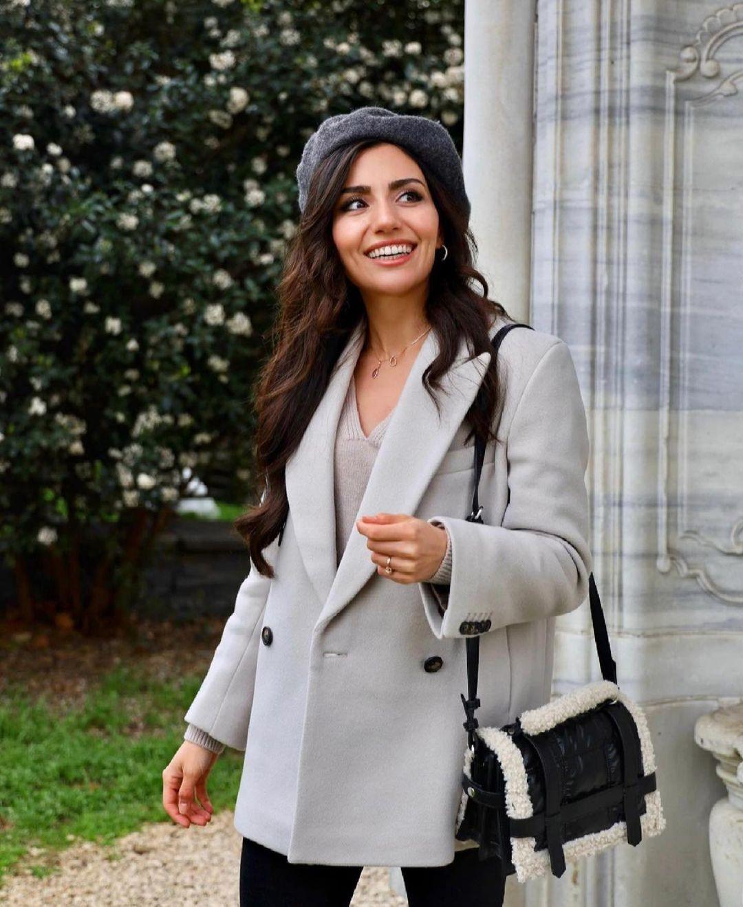 sac de ville matelassé avec effet mouton de Zara sur zara.outfits