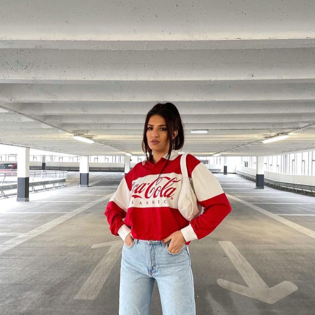 coca cola® polo de Zara sur zara.style.daily