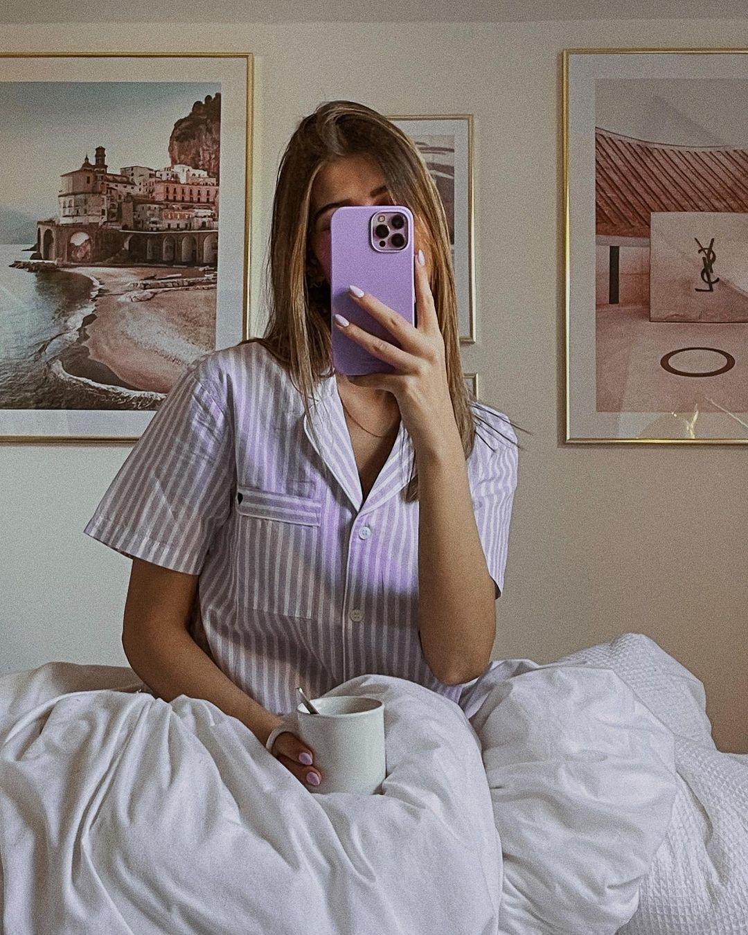 ensemble de pyjama de H&M sur nooomsworld