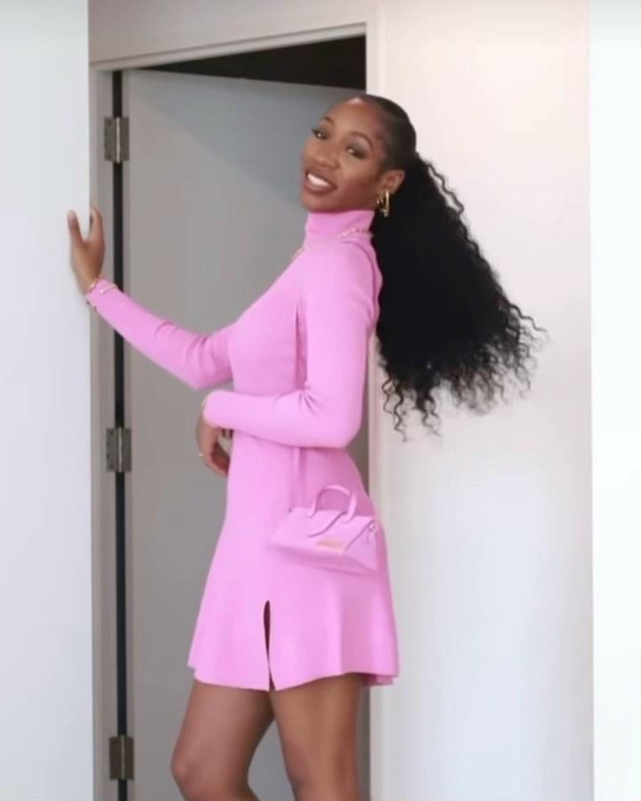 robe courte en maille de Zara sur zara.mania