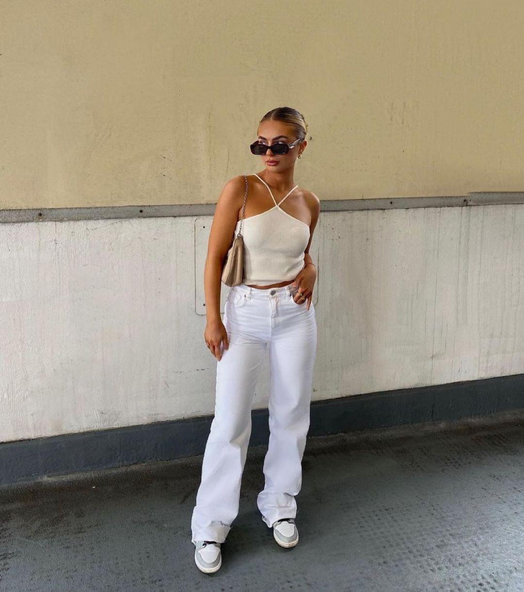hi rise straight jeans de Zara sur zara.style.daily