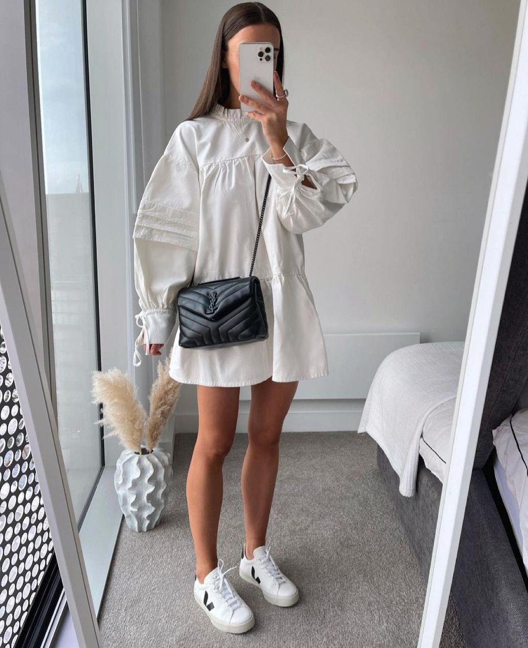 robe courte de Zara sur zara.outfits