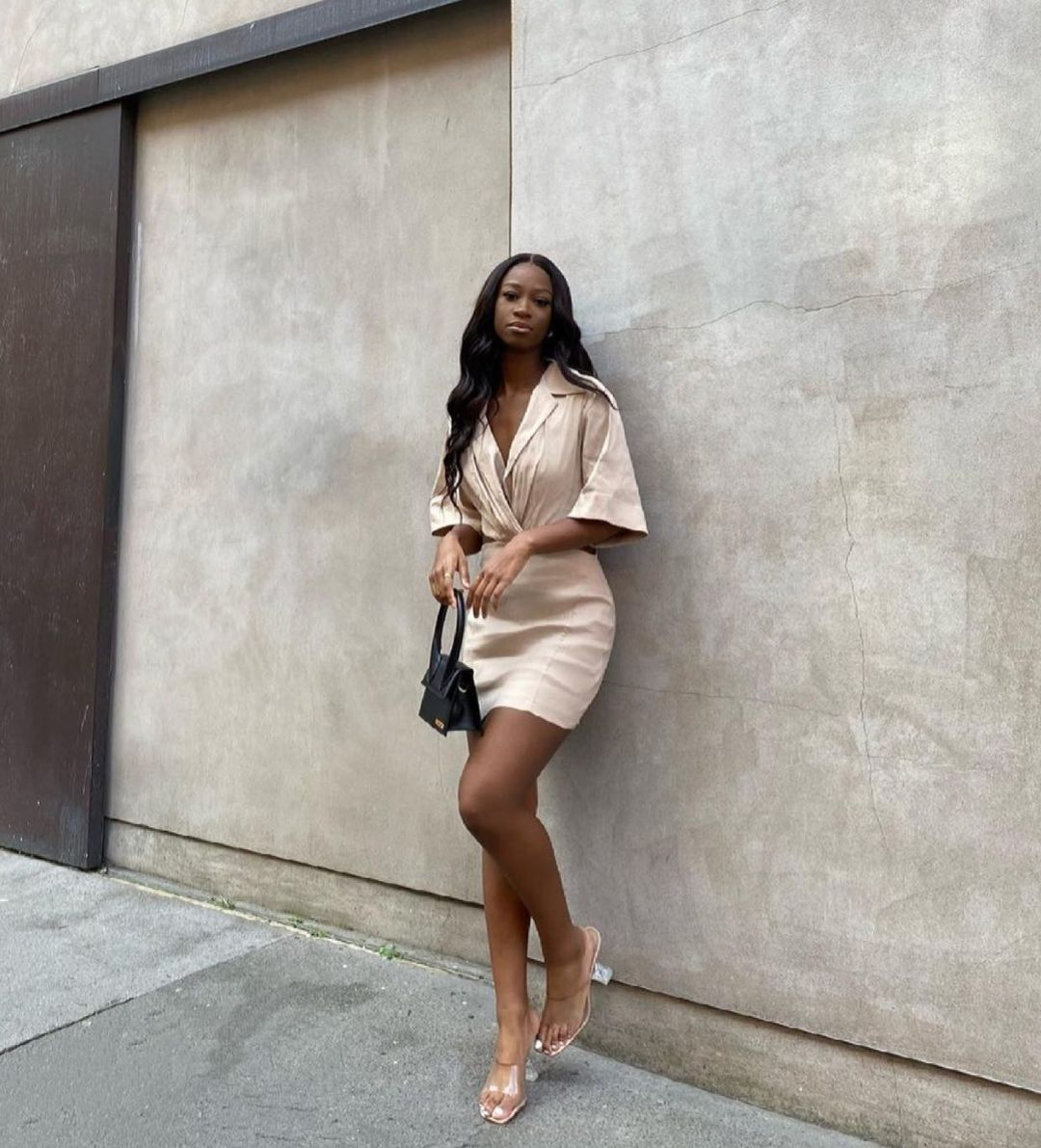 short openwork dress de Zara sur zara.style.daily