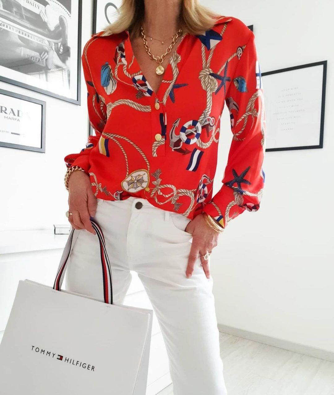 chemise imprimée de Zara sur zara.outfits