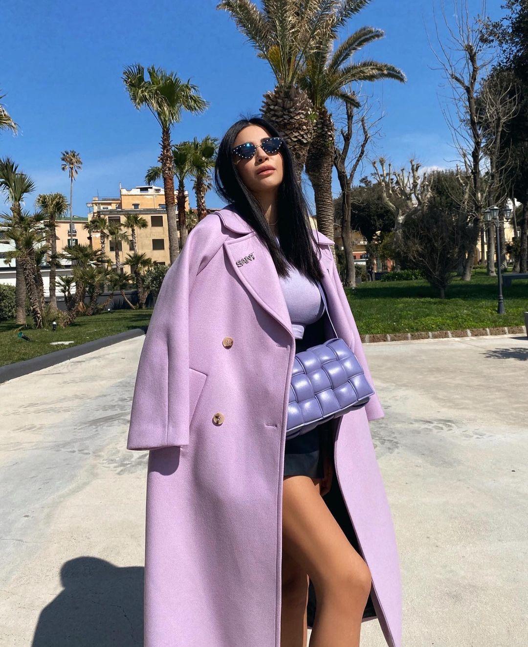 manteau avec laine limited edition de Zara sur zara.mania