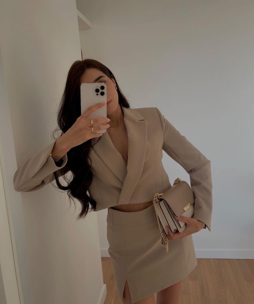 veste courte de Zara sur zara.outfits