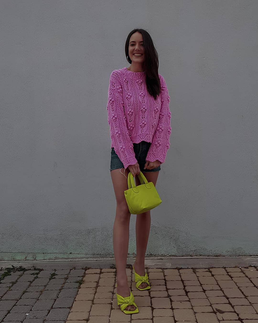 oversized knit sweater de Zara sur mango.outfits