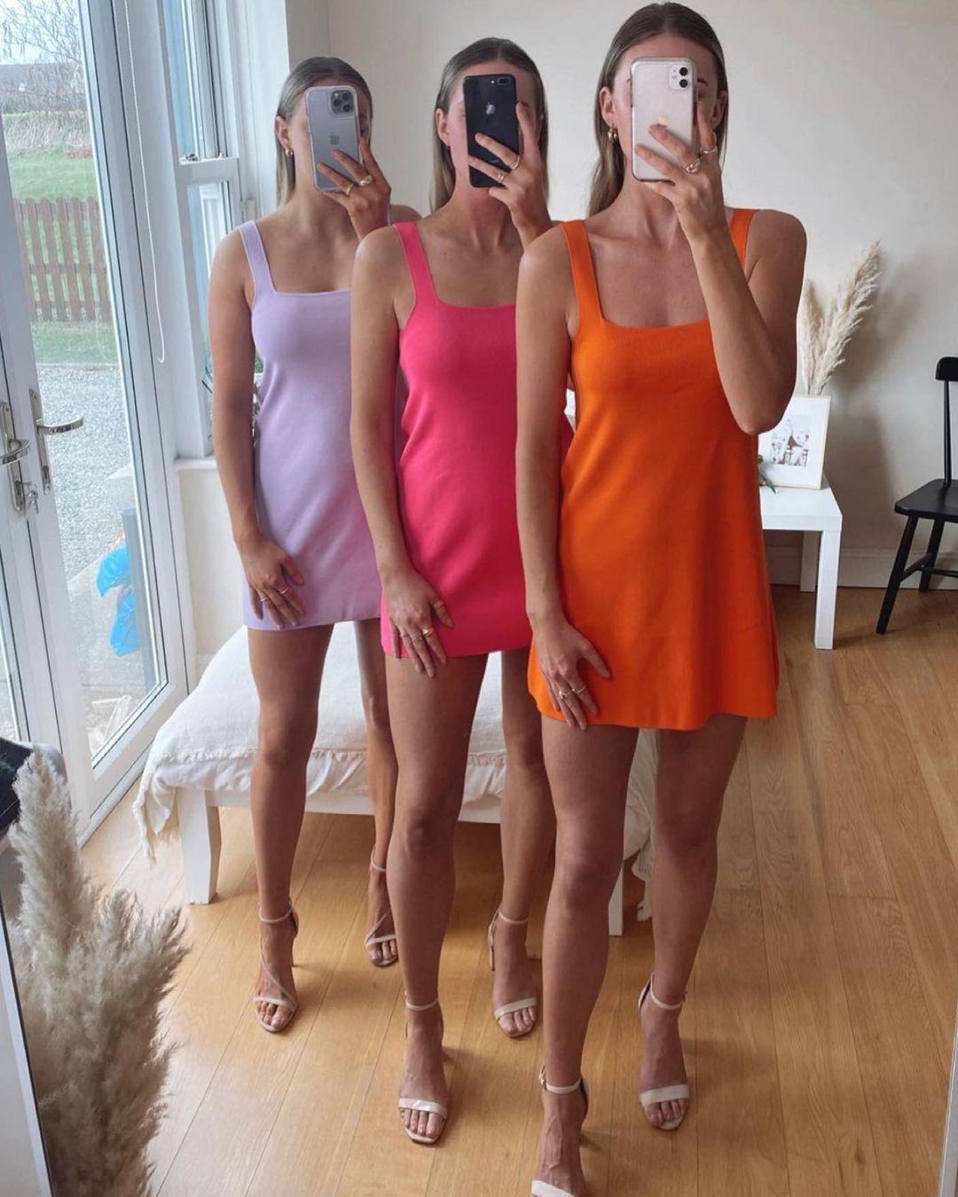 strapless knit dress de Zara sur zara.style.daily