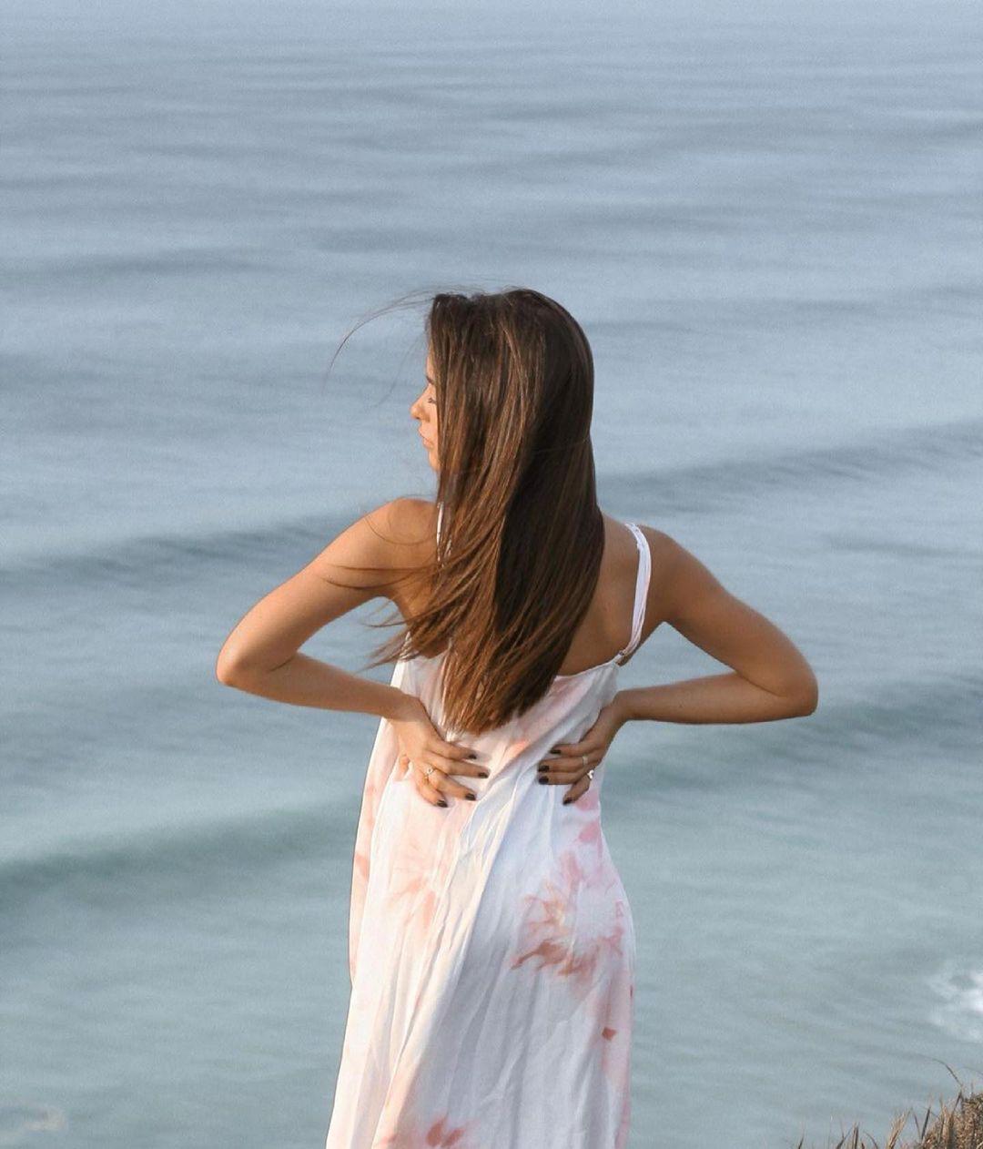 tie dye satin dress de Zara sur zaraaddiction