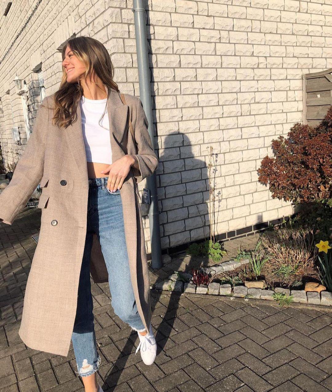 manteau en cachemire limited edition de Zara sur zara.outfits