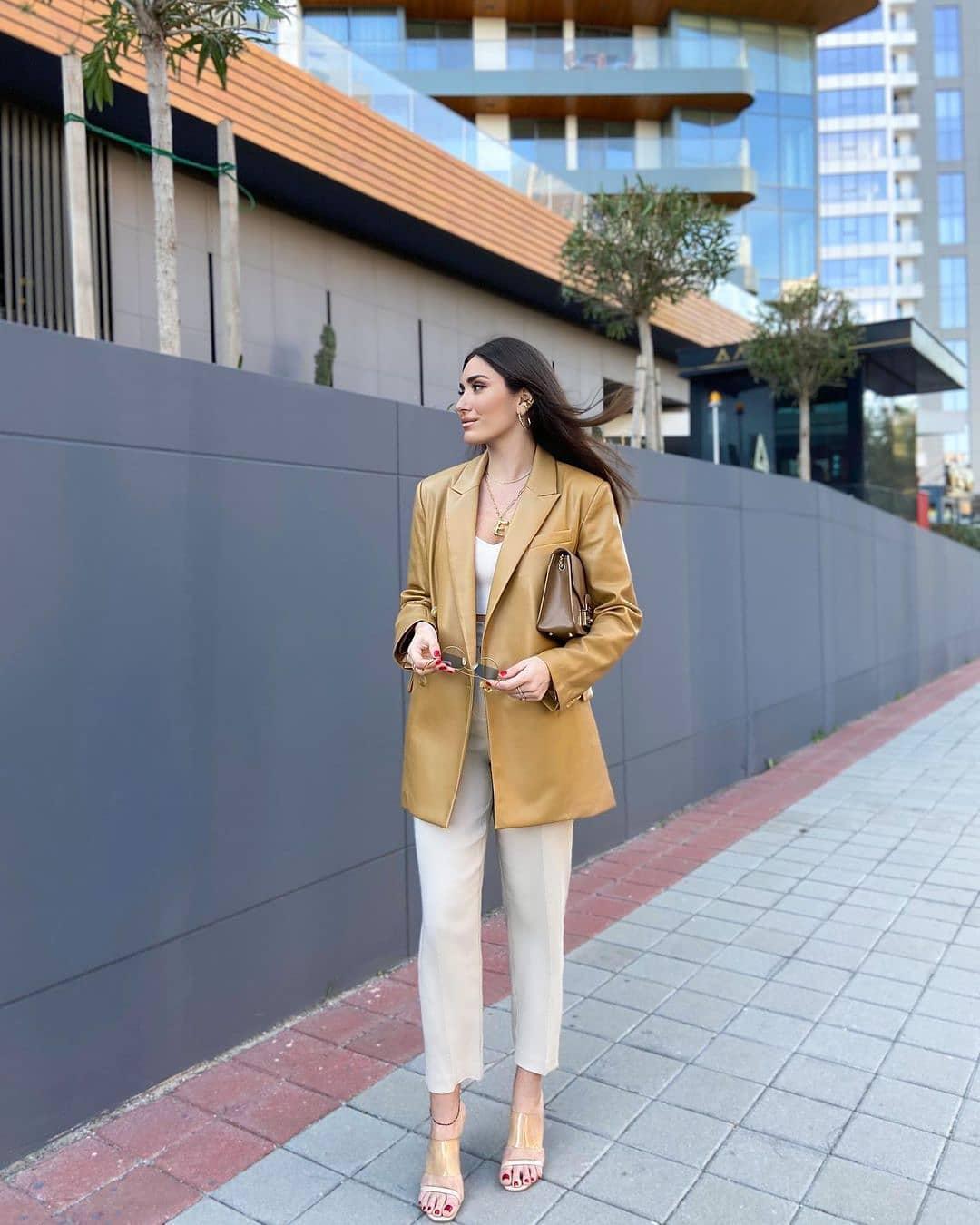 jacket combi de Mango sur mango.outfits