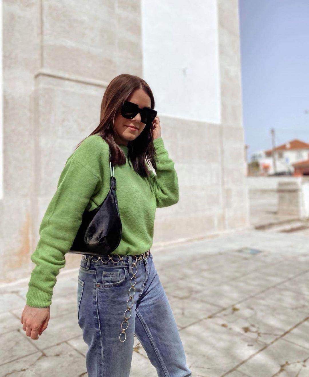 pull basique cropped de Zara sur zara.outfits
