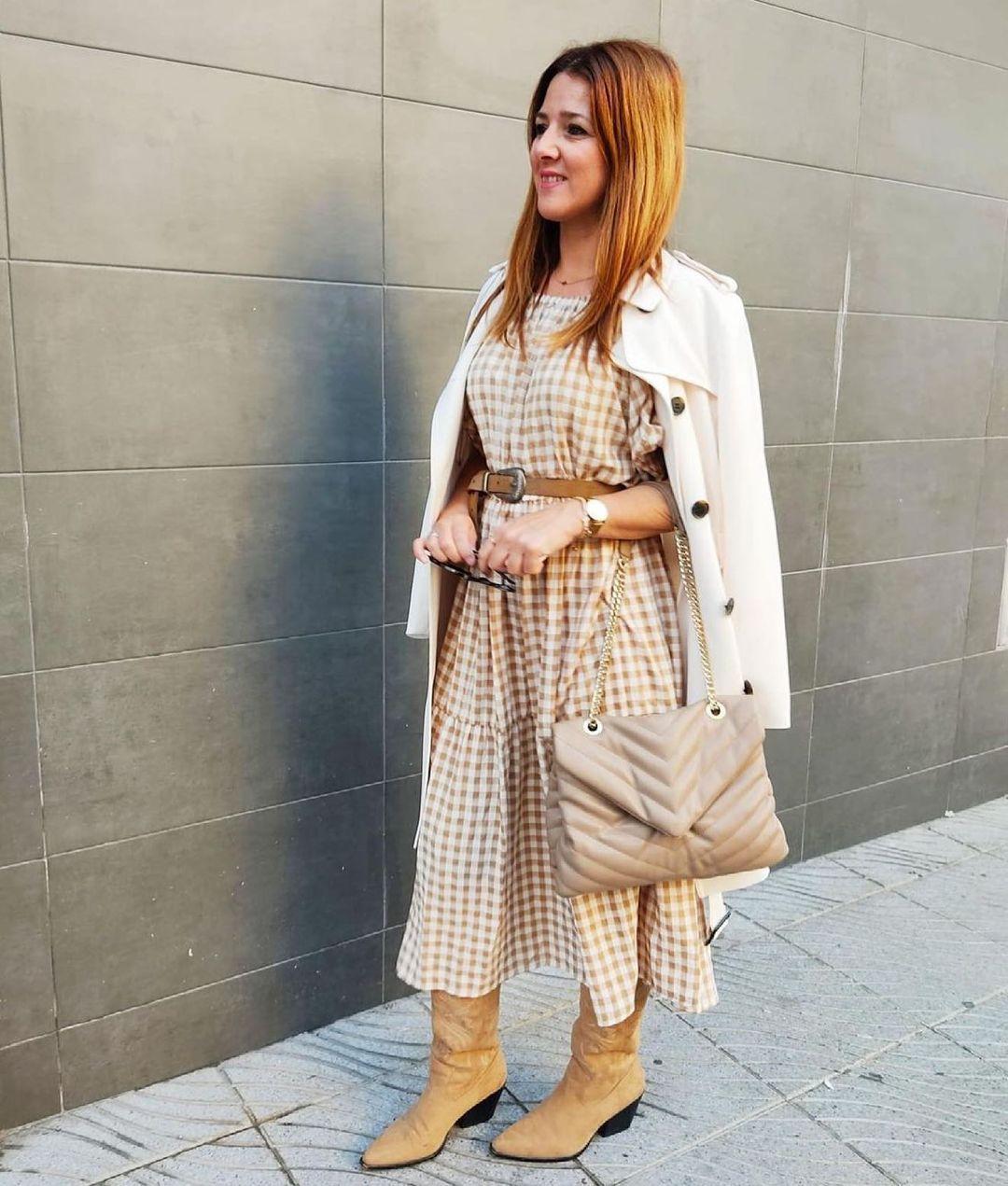 dress leon-i de Mango sur mango.outfits