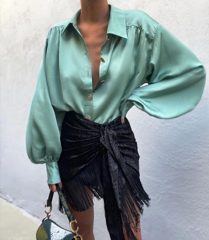 printed pareo skirt de Zara sur zaraaddiction