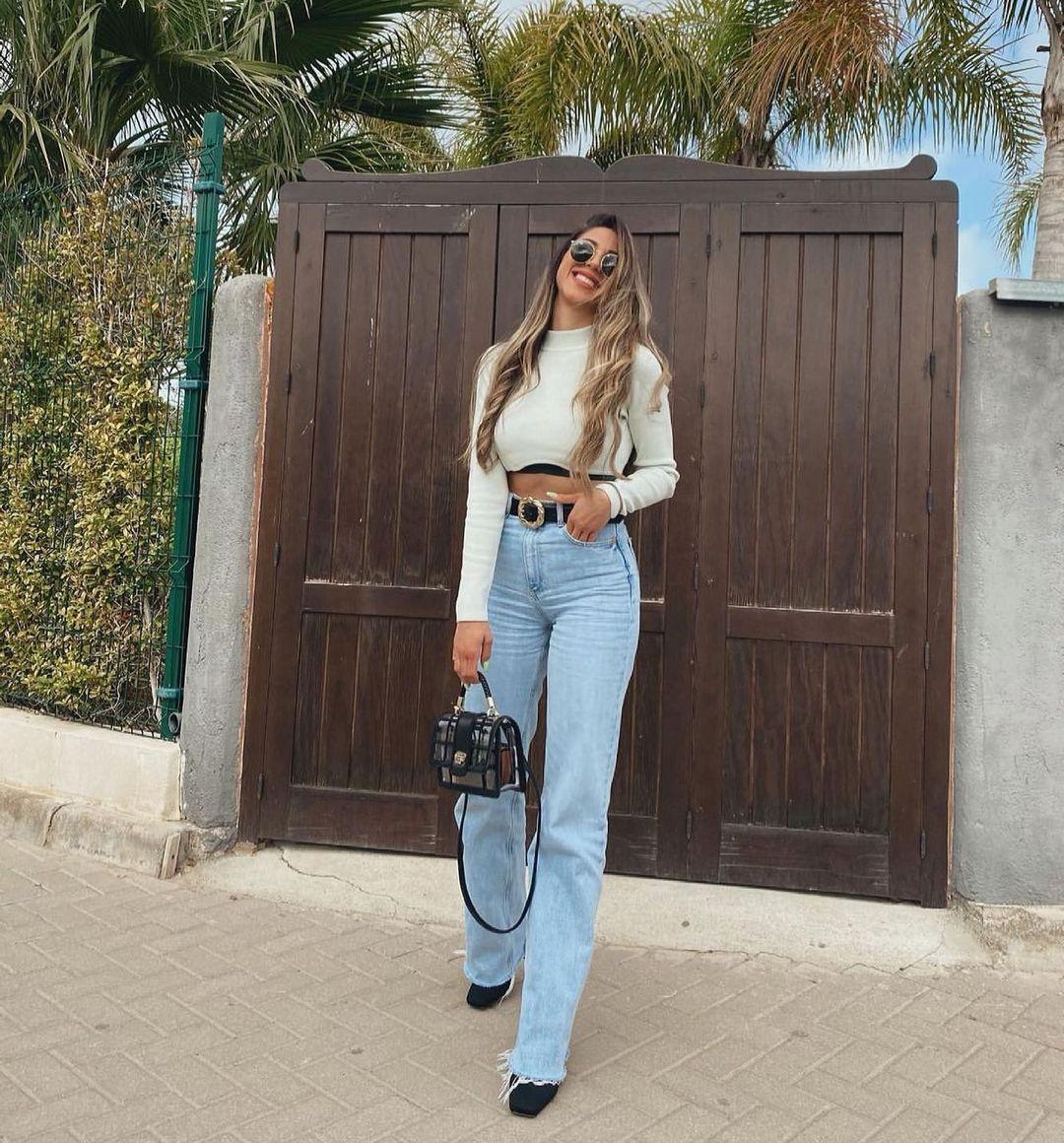 jeans z1975 full length de Zara sur zaradiccion__