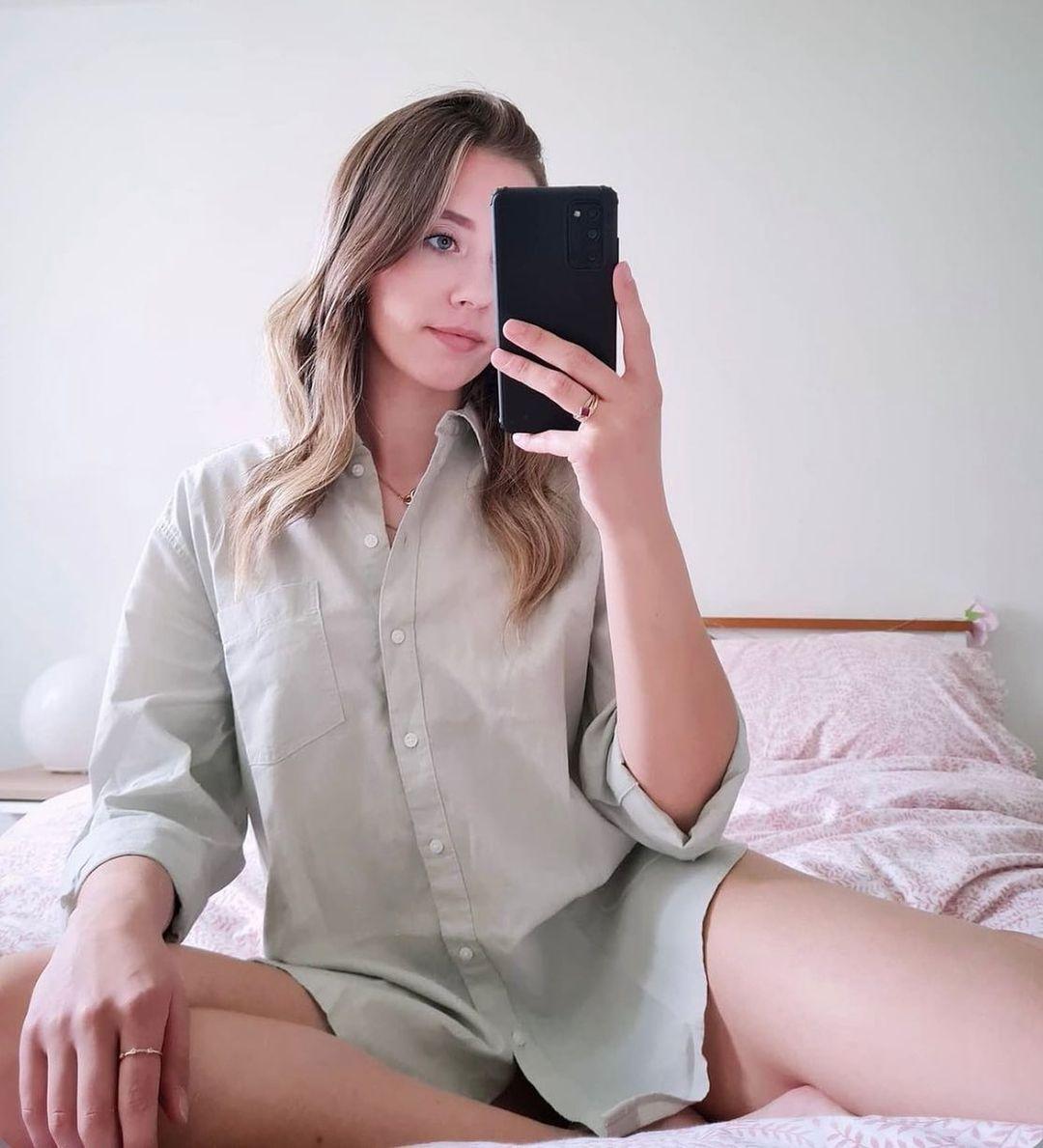 chemise en lin de H&M sur hm.addicted