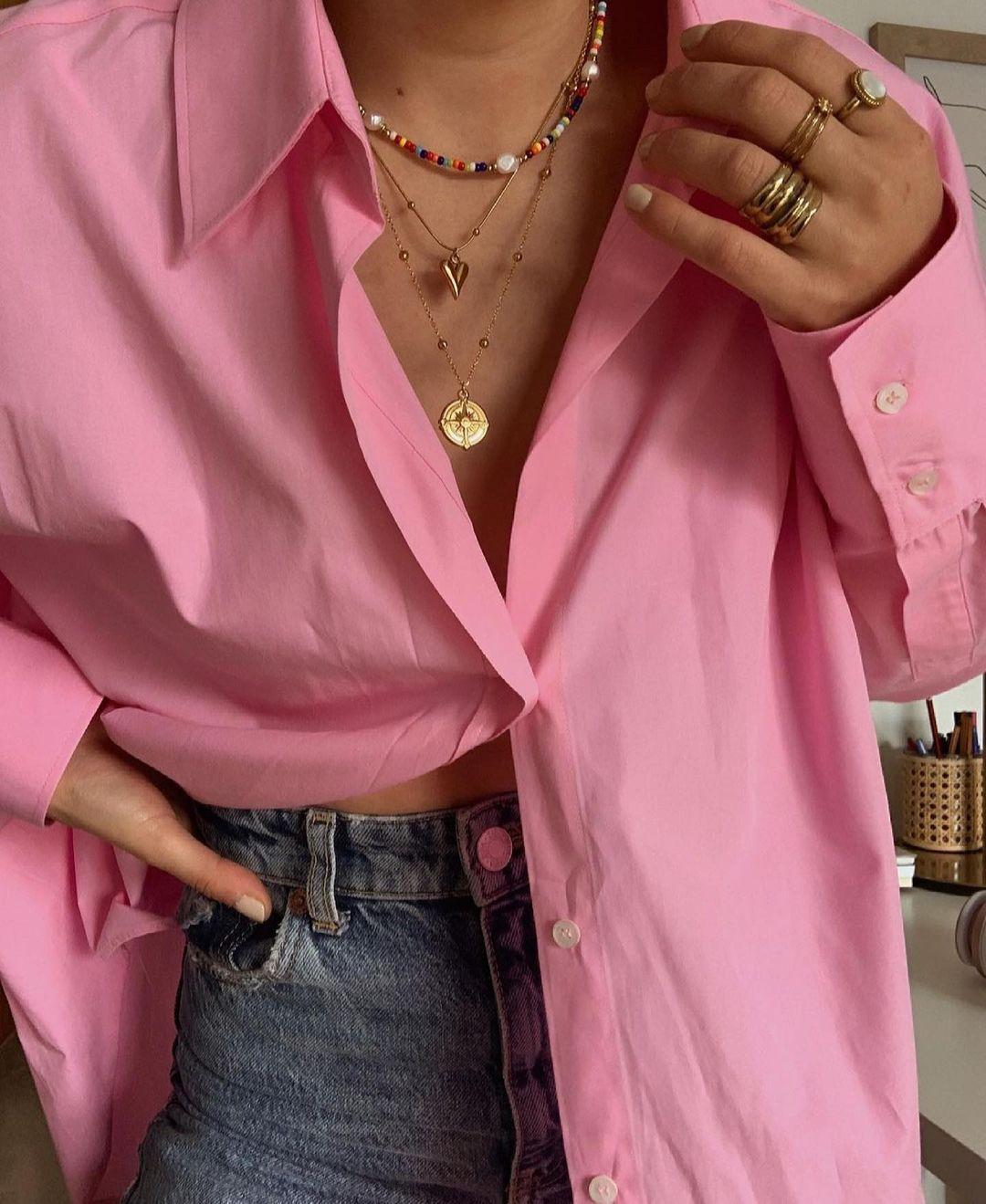 chemise en popeline join life de Zara sur zara.outfits