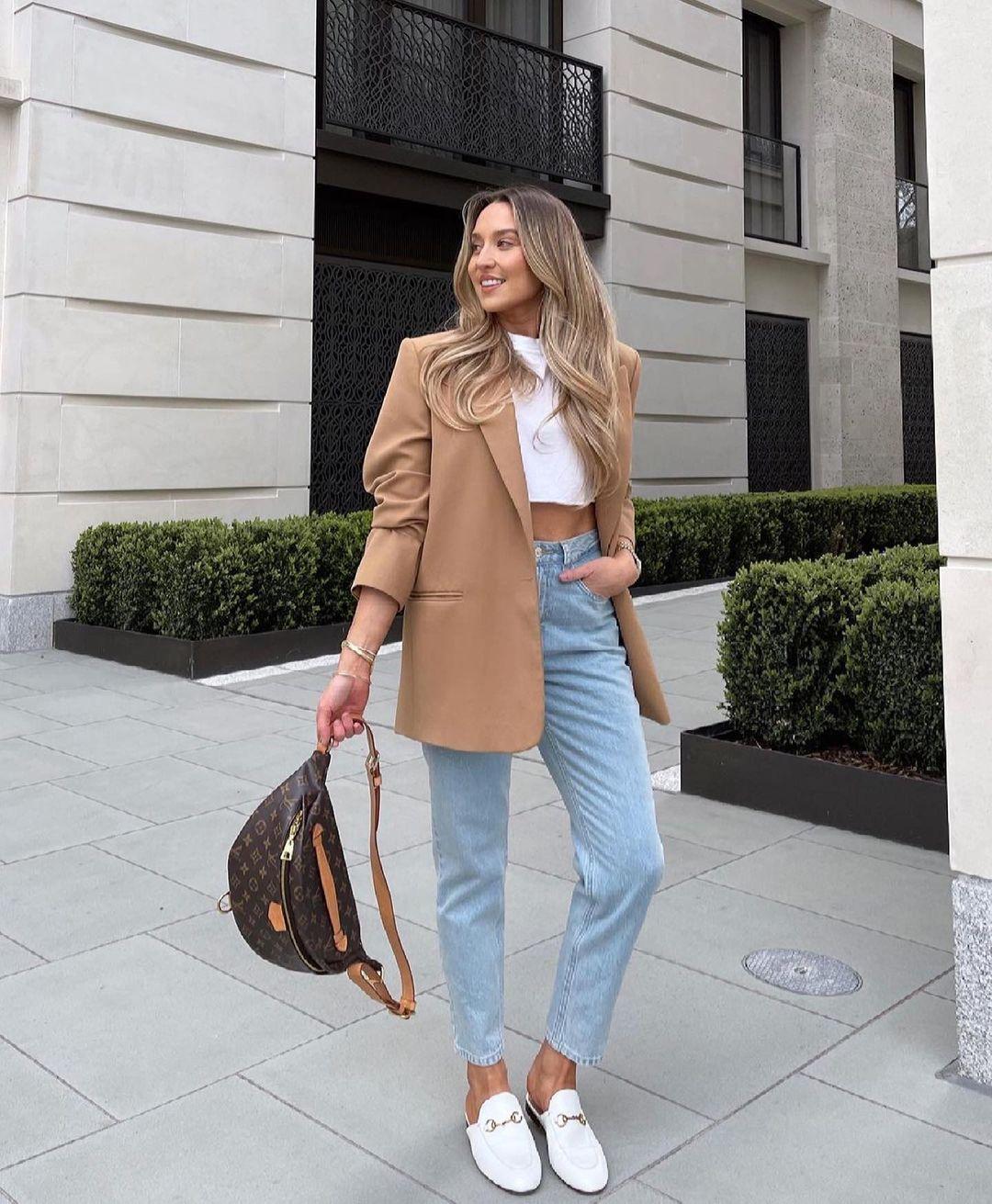 veste oversize à poches de Zara sur zara.outfits