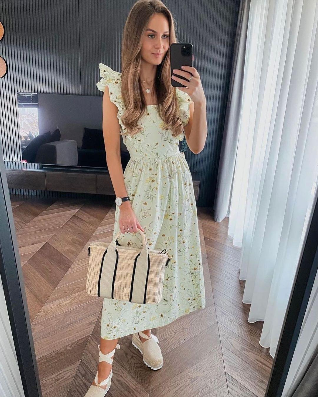 robe en popeline de H&M sur hm.addicted