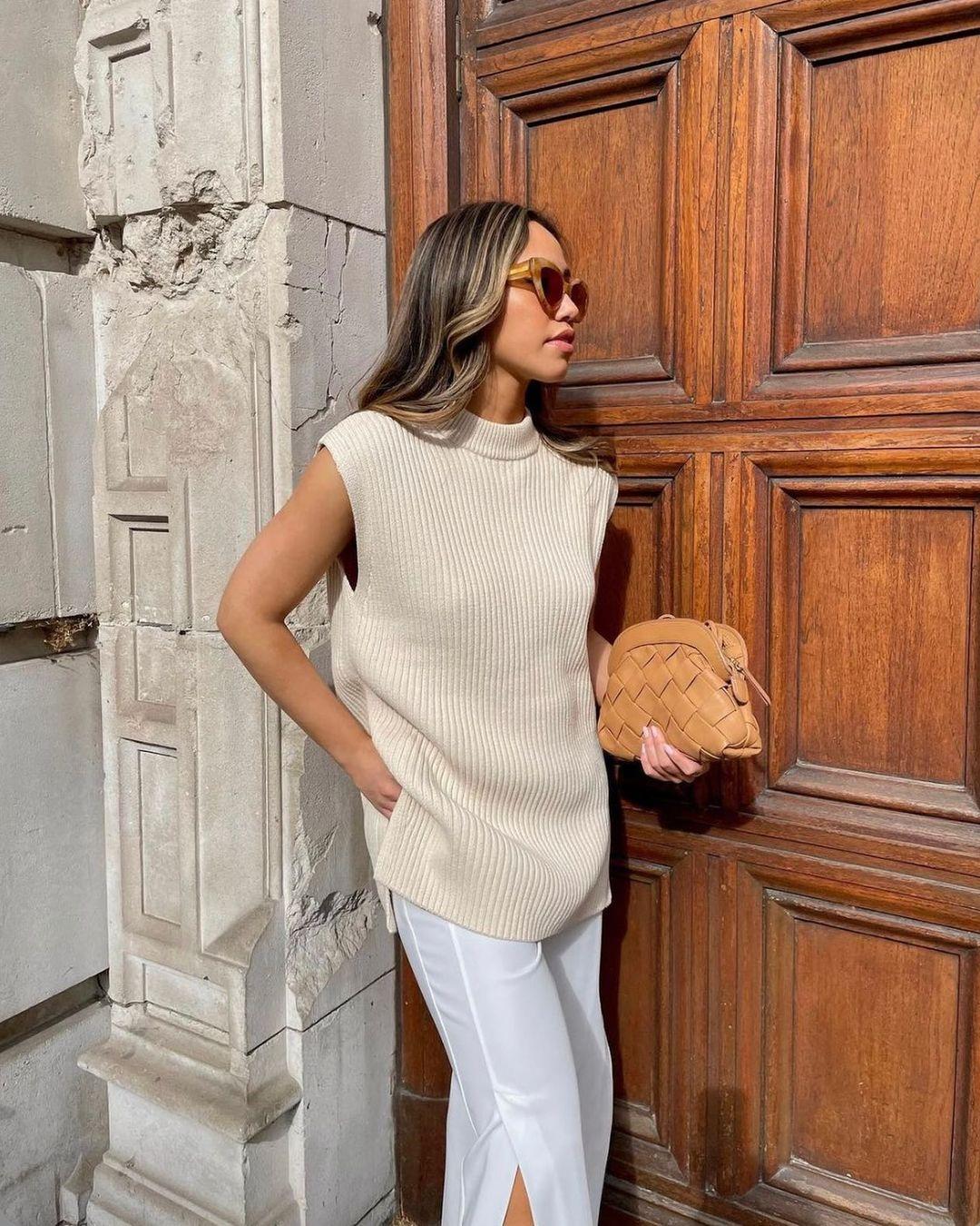 h&m+ oversized sweater vest de H&M sur hm.addicted