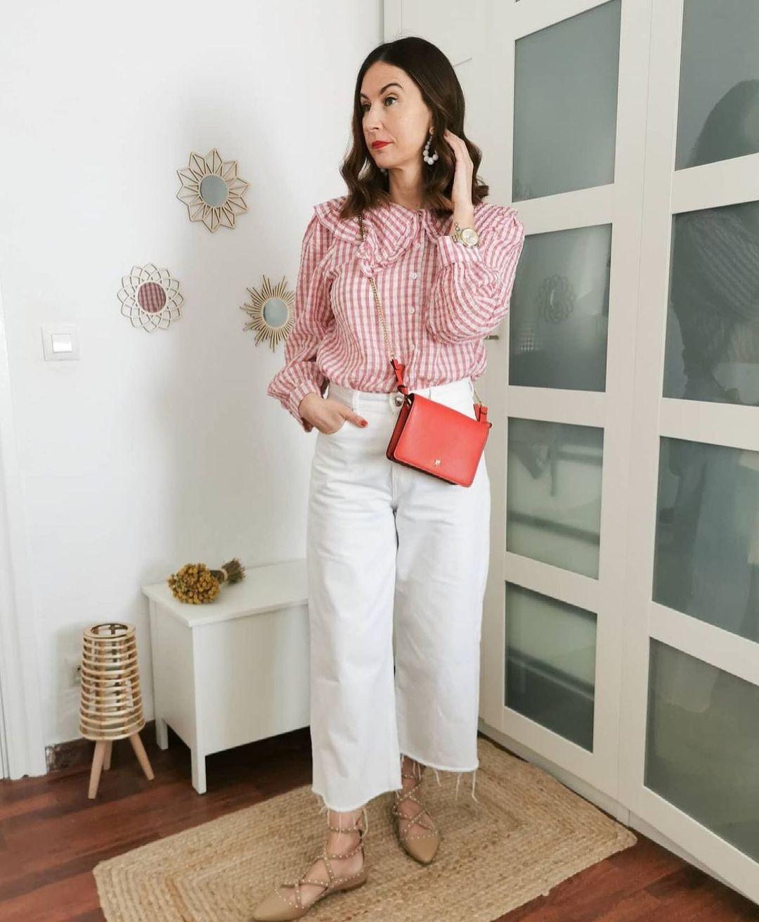blouse babi de Mango sur mango.outfits