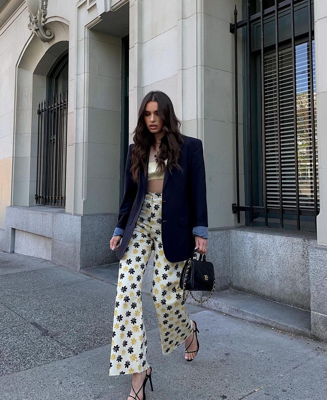 jeans zw the navy straight de Zara sur zarastreetstyle