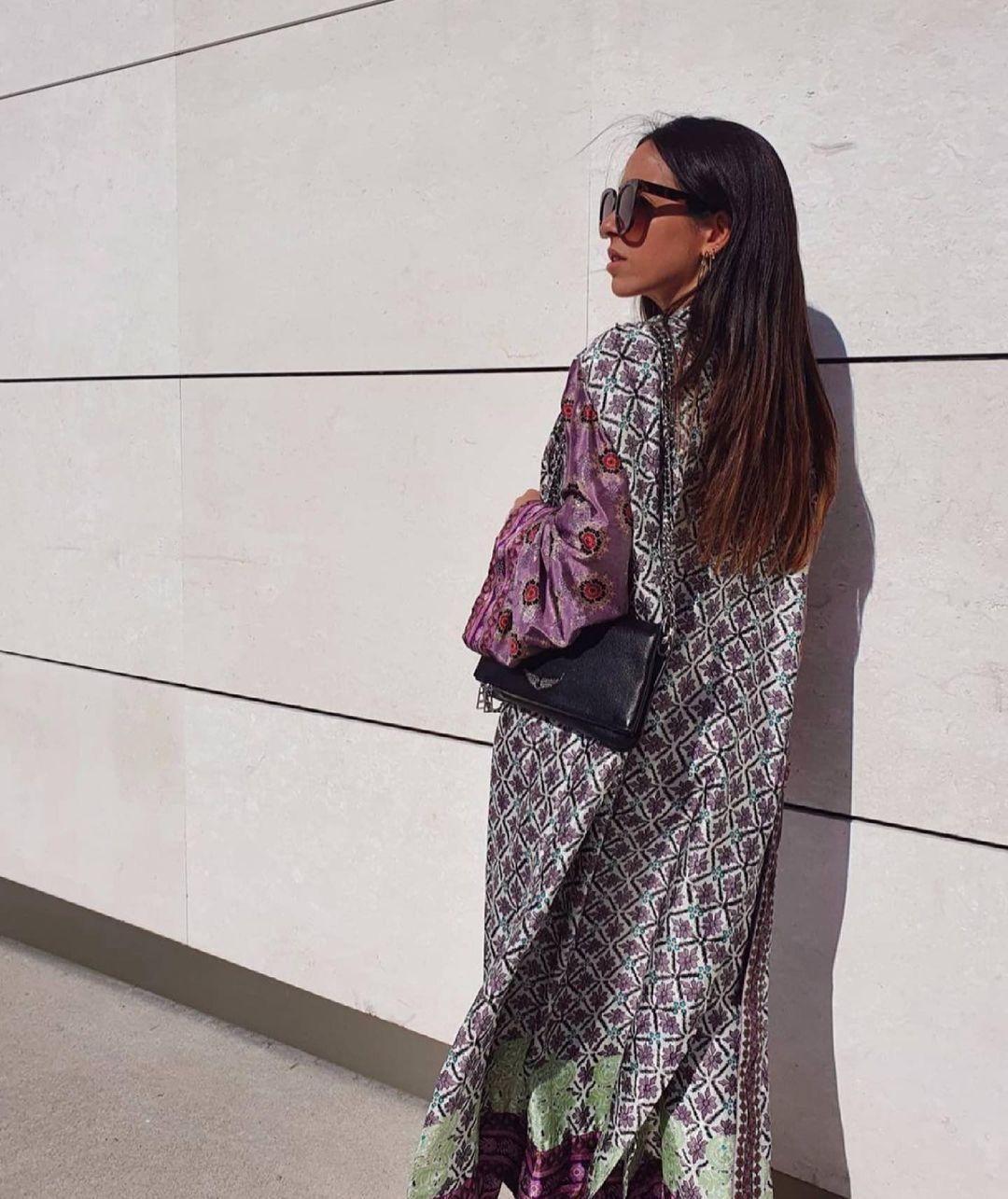 printed kimono de Zara sur zaradiccion__