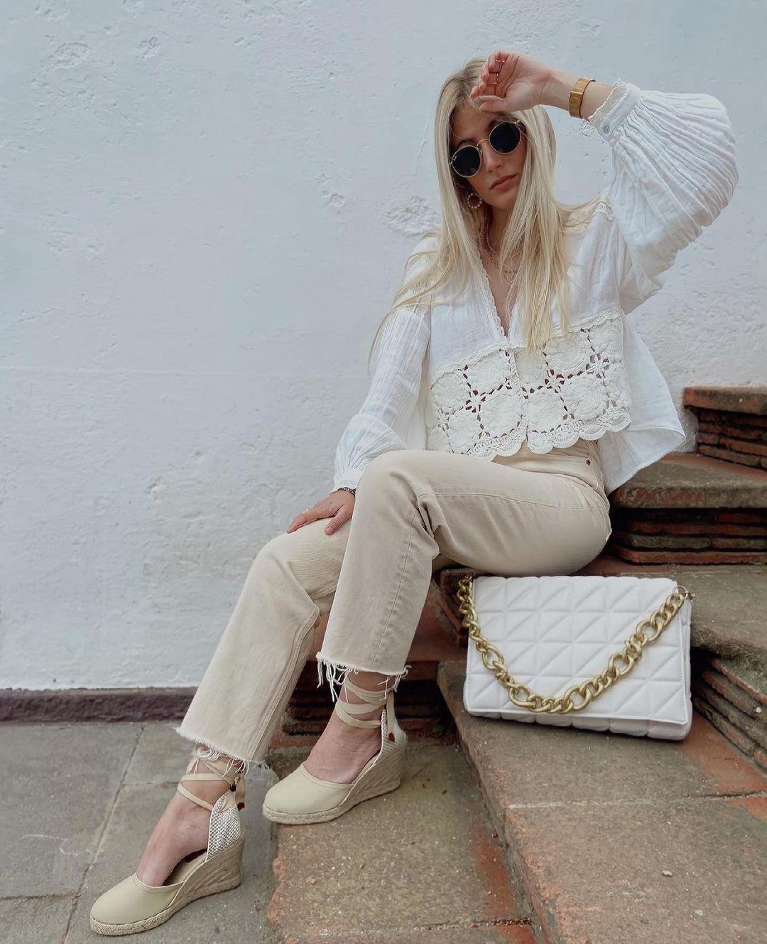 quilted shoulder bag with chain de Zara sur zaradiccion__