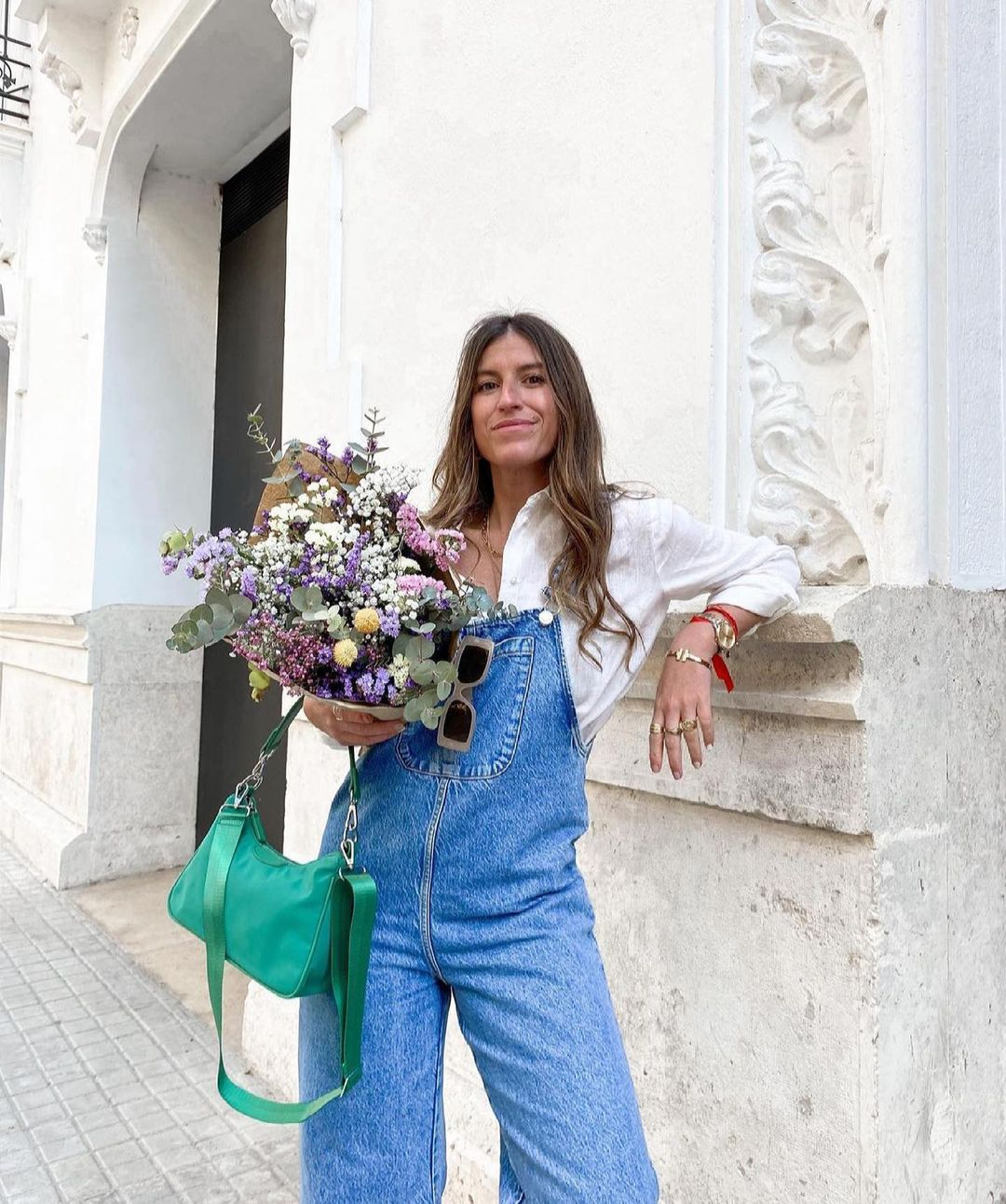 combinaison en jean de Zara sur zara.outfits