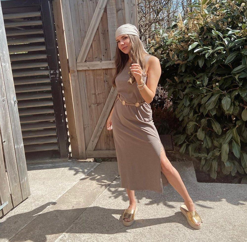 ribbed dress de H&M sur hm.addicted