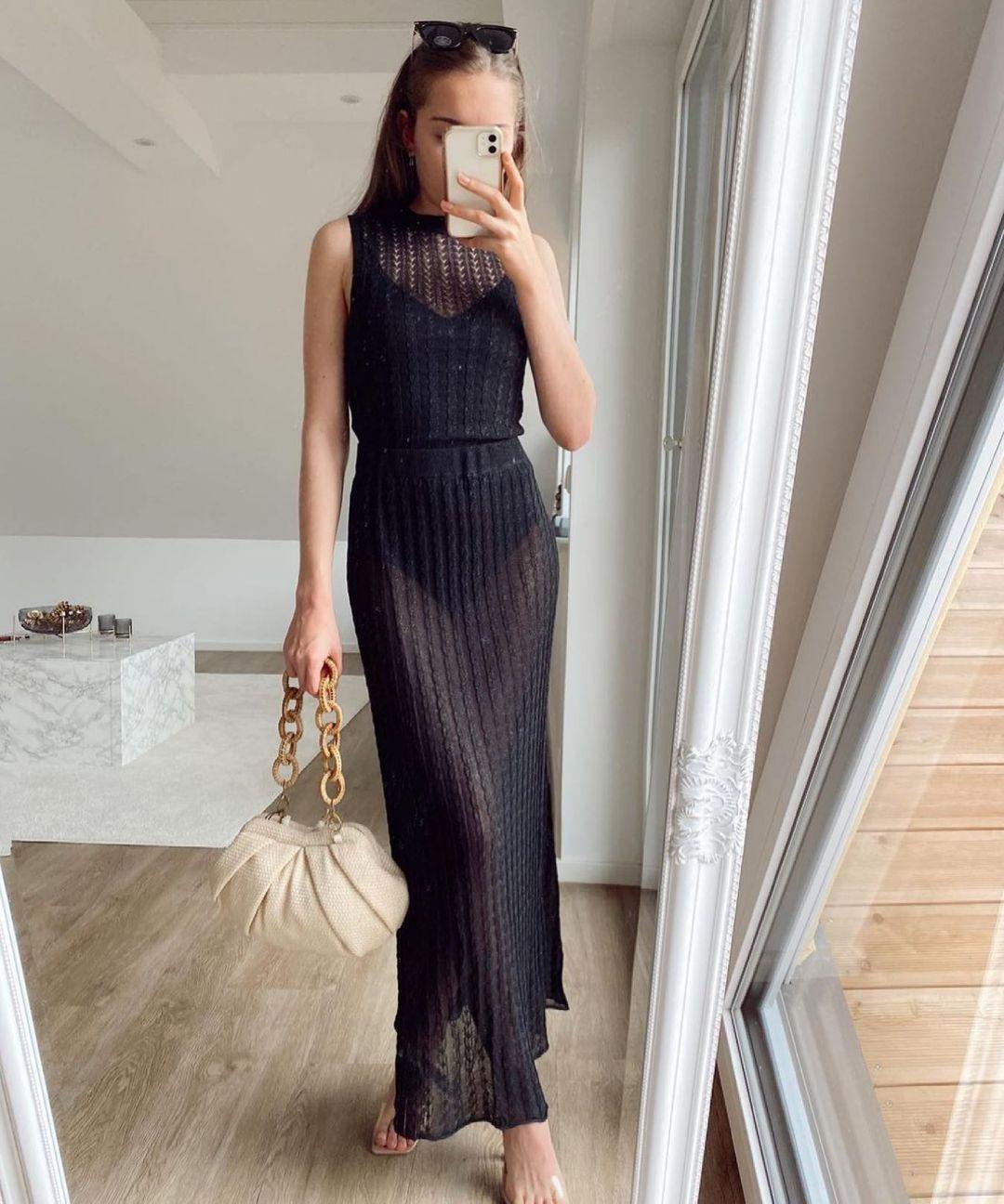 raffia shoulder bag de Zara sur zara.style.daily