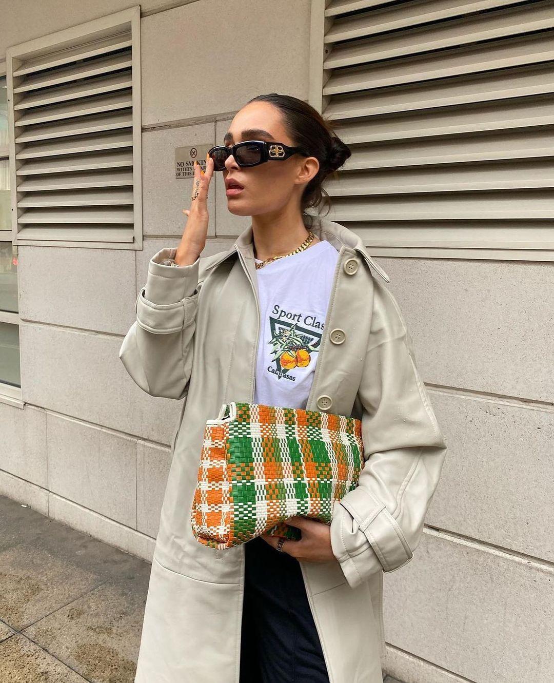 braided envelope bag de Zara sur zarastreetstyle