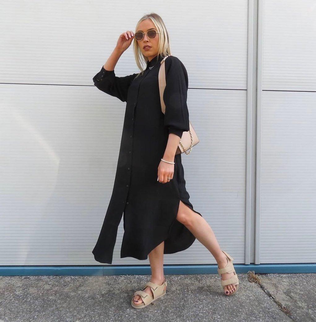 calf-length dress de H&M sur hm.addicted