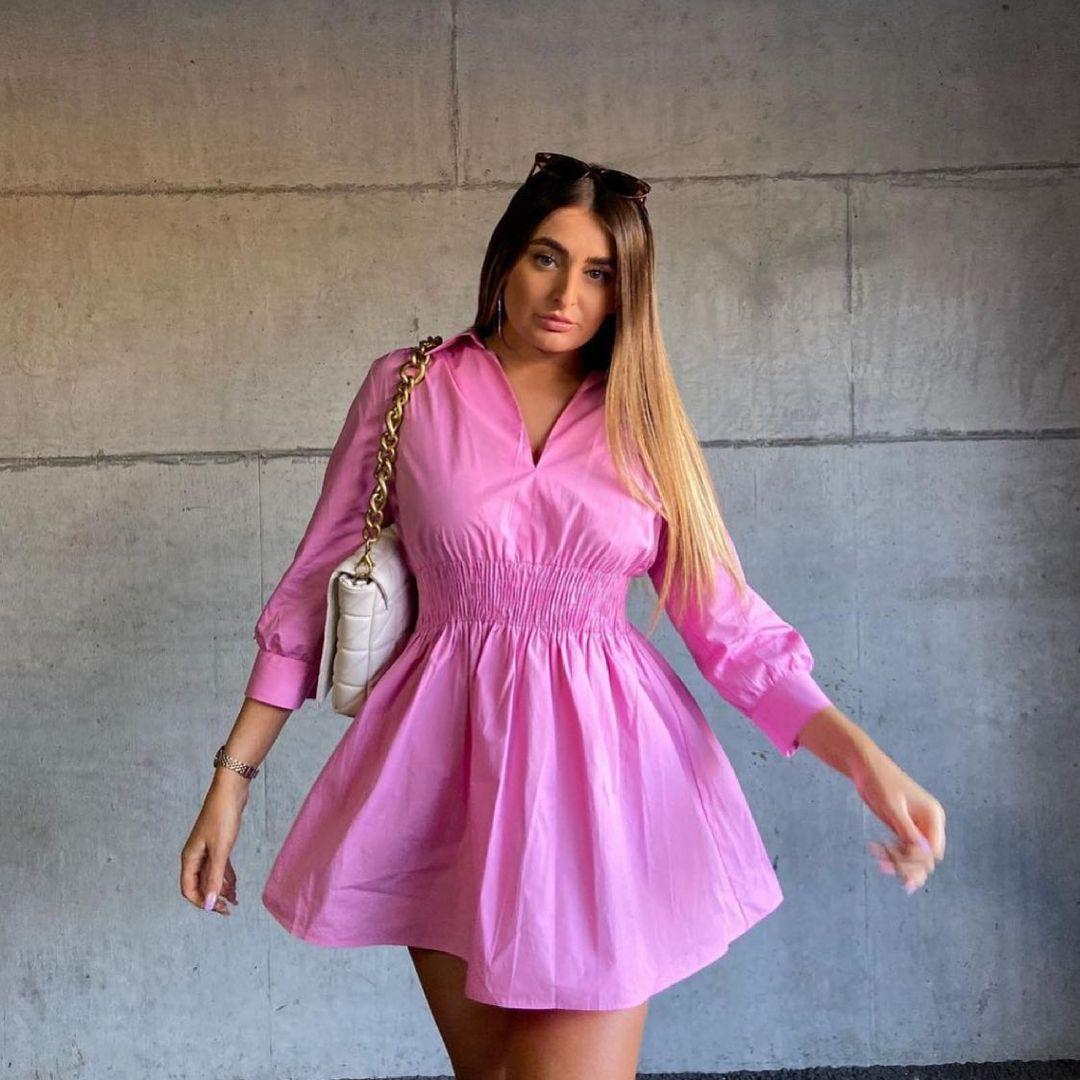 poplin short dress de Zara sur zara.style.daily