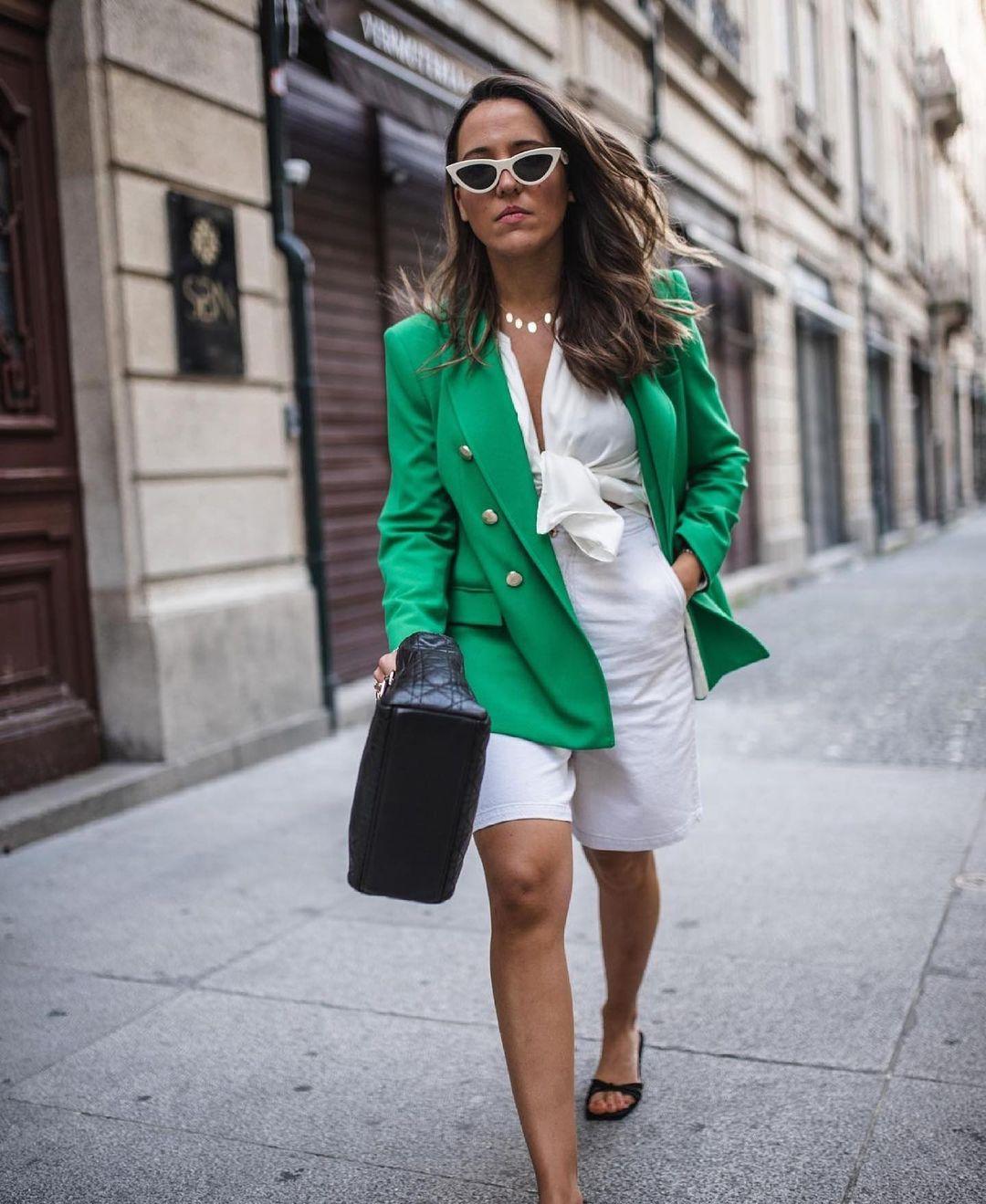structured cross breasted jacket de Zara sur zara.outfits