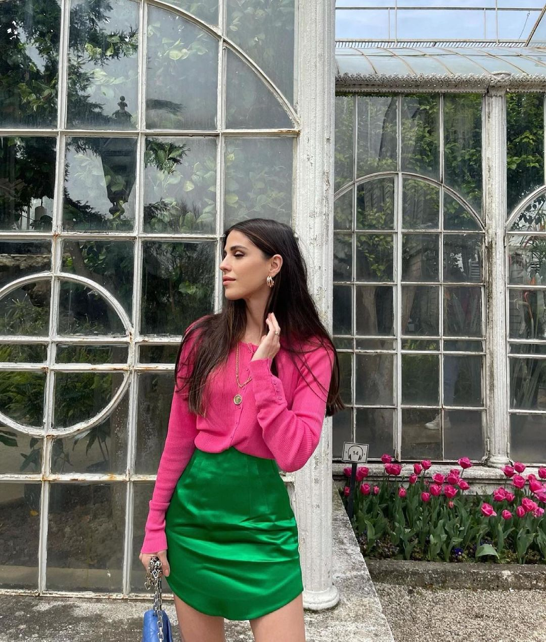 satin mini skirt de Zara sur zaraaddiction