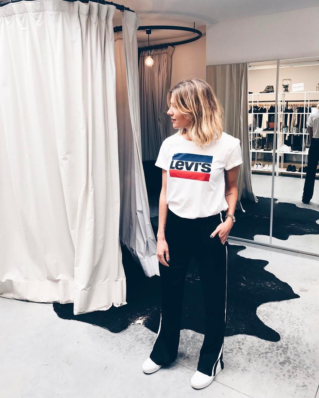 white girls levis t-shirt de Les Bourgeoises sur cyrielleforkure