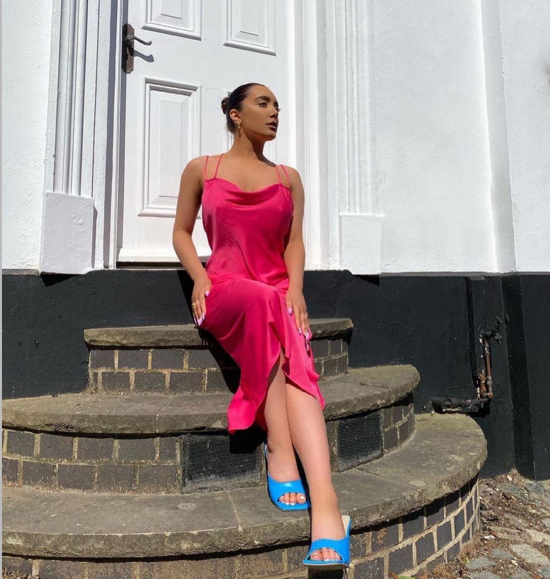 wide heel sandals de Zara sur zara.style.daily