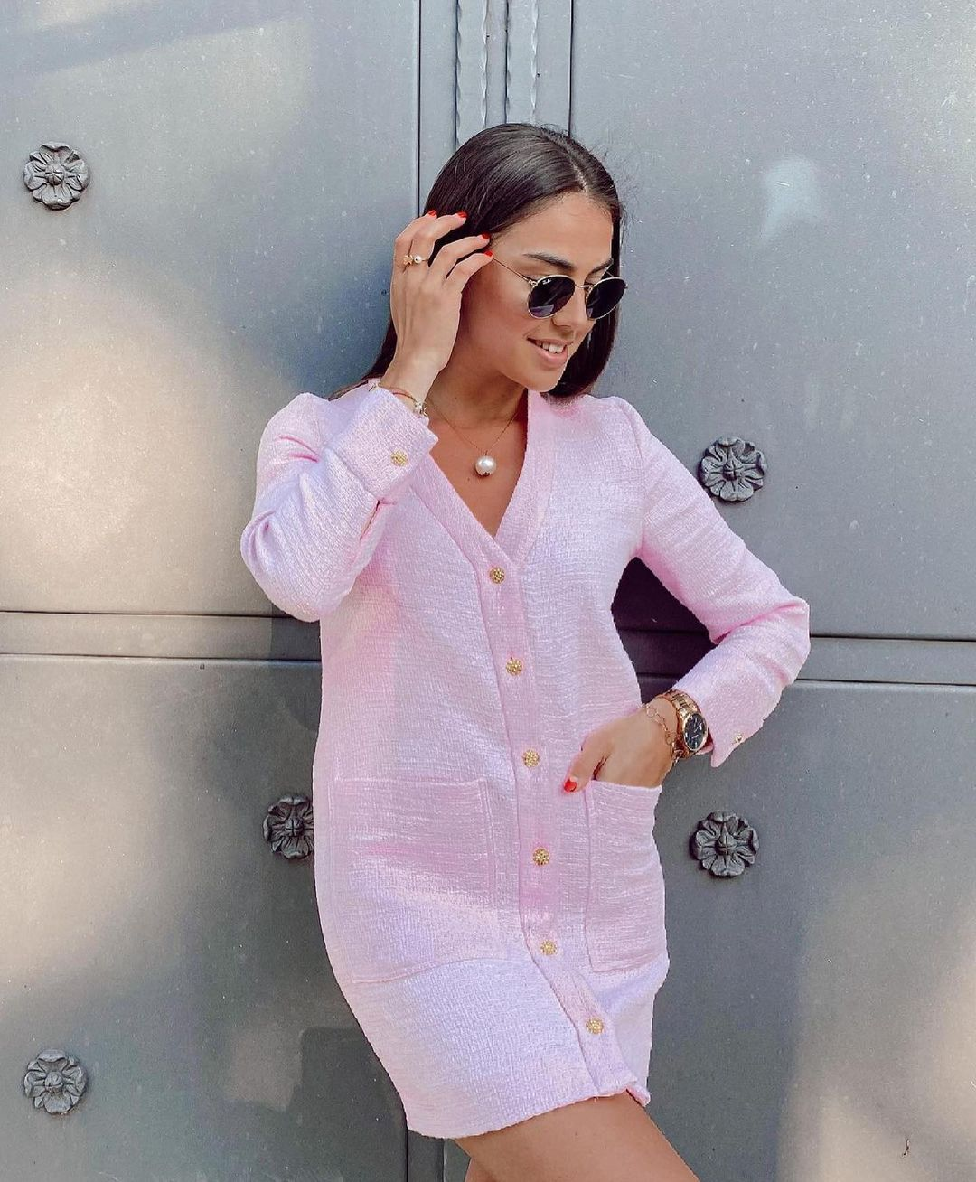 structured jacket with buttons de Zara sur zaradiccion__