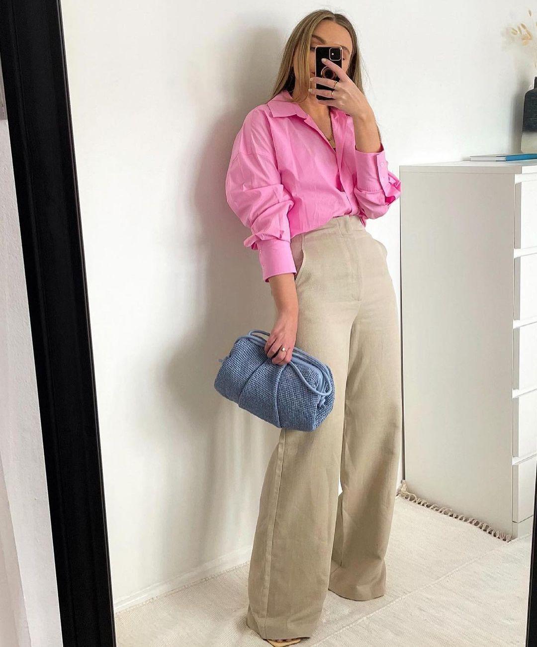 striped asymmetric shirt de Zara sur zara.outfits