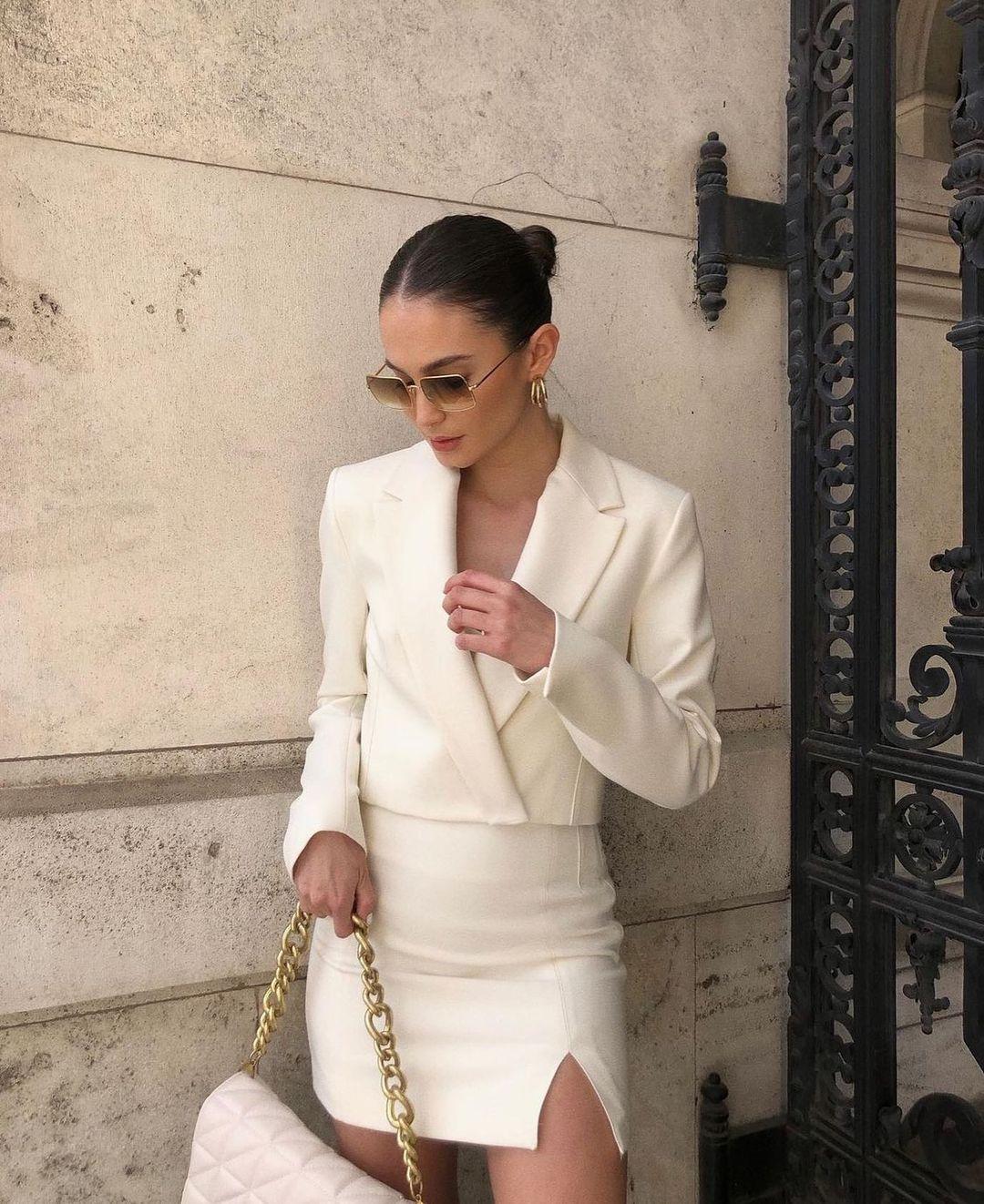 quilted shoulder bag with chain de Zara sur zarastreetstyle