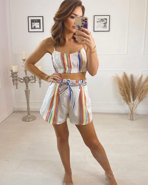 lyocell-blend shorts de H&M sur hm.addicted