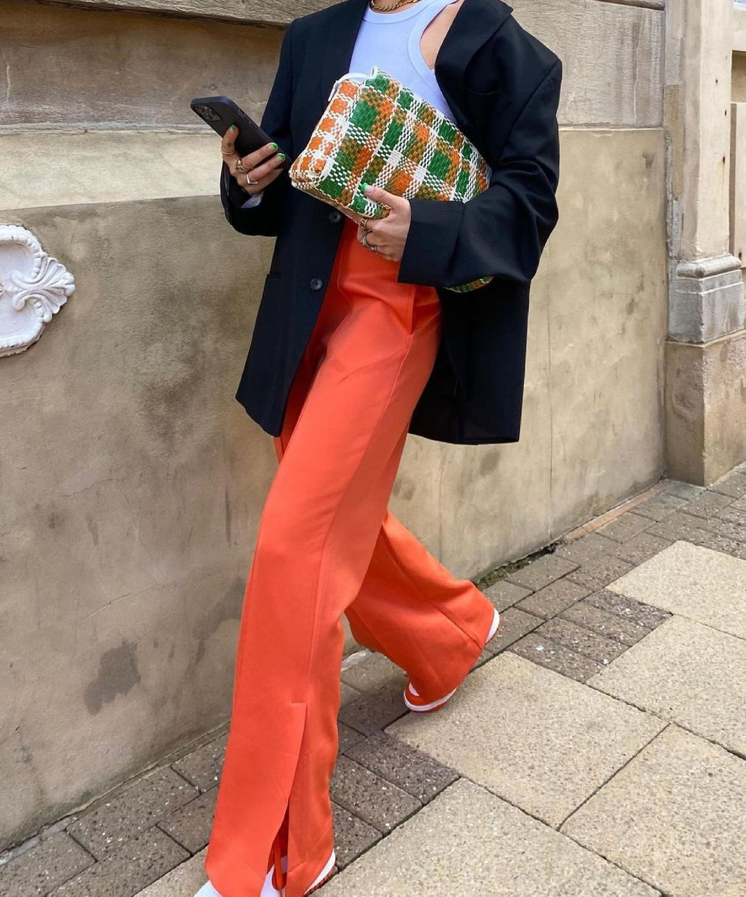 braided envelope bag de Zara sur zaraaddiction