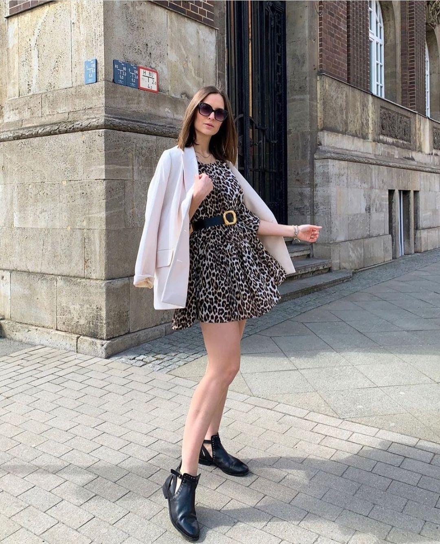 robe vaporeuse de H&M sur hm.addicted