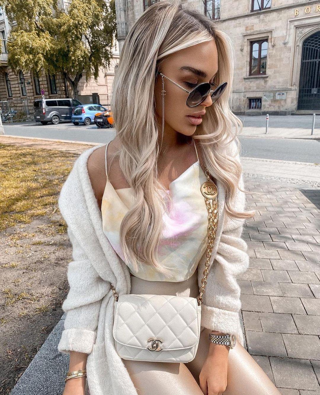 top style lingerie tie dye de Zara sur zarastreetstyle