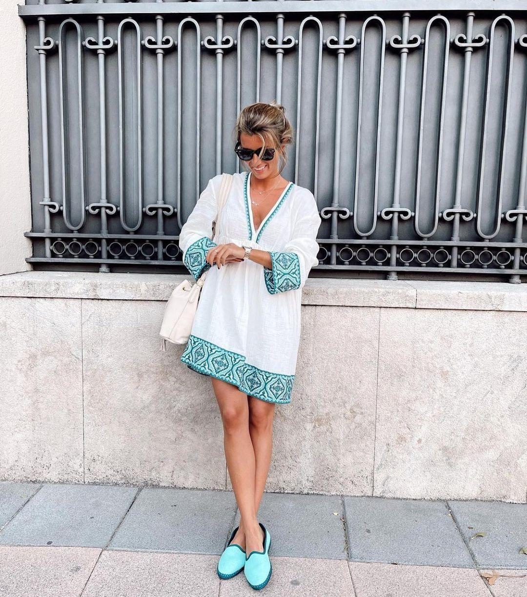 bimaterial dress with texture de Zara sur zaraaddiction