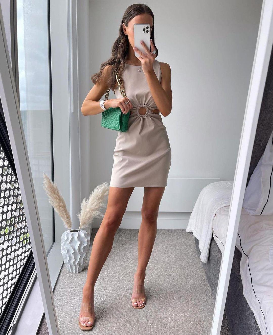medium quilted shoulder bag with chain de Zara sur zarastreetstyle