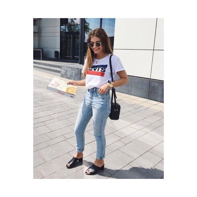 white girls levis t-shirt de Les Bourgeoises sur levis_belgium