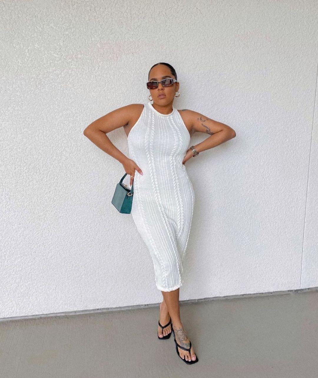 twisted dress de Zara sur zara.style.daily